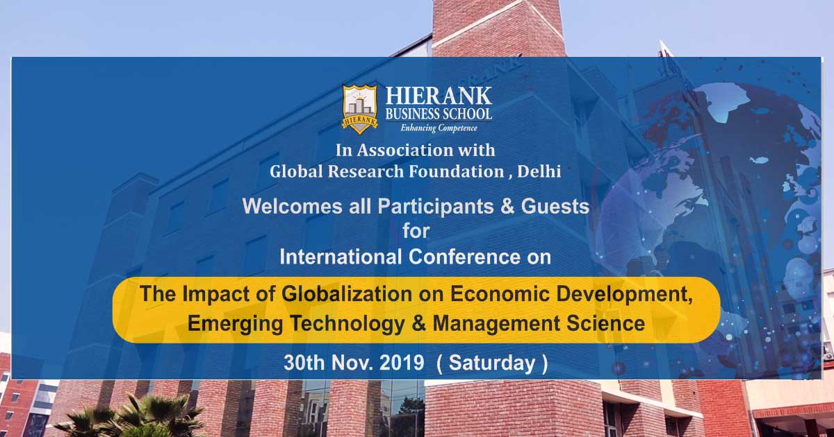 Hierank International Conference