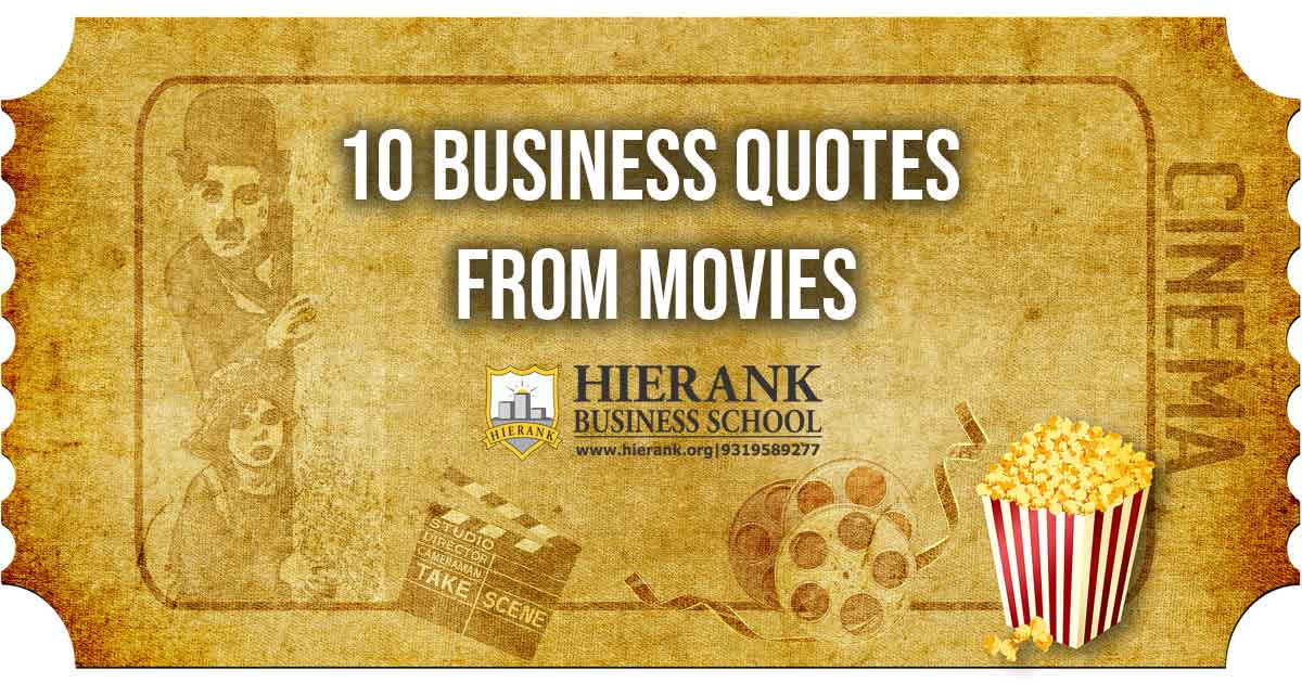 10 Business Quotes from Movies